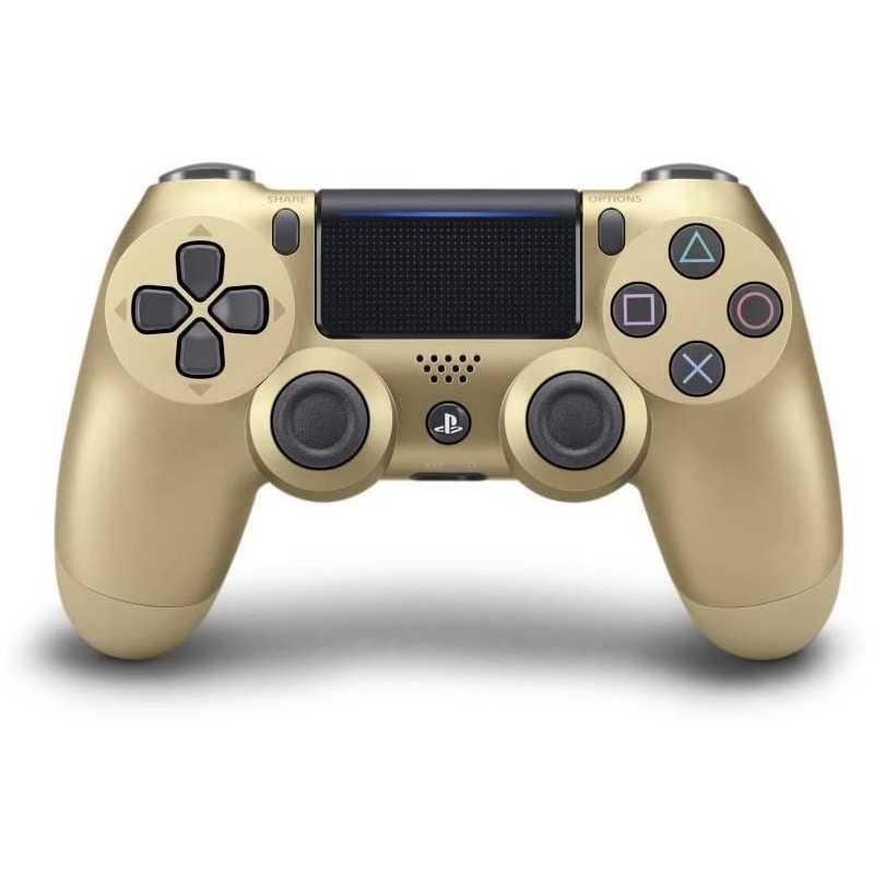 MANETTE DUALSHOCK SONY PS4 V2 GOLD - Accessoires - gamezone