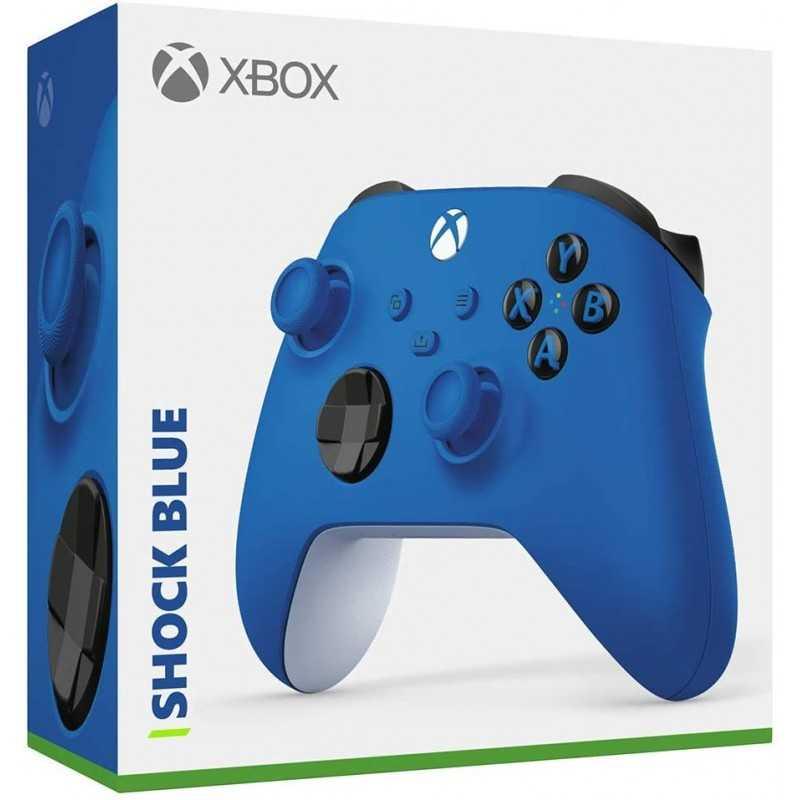 Nouvelle Manette Xbox Sans fil - Shock Blue - Accessoires - gamezone
