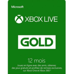 12 Mois Abonnement - Xbox...