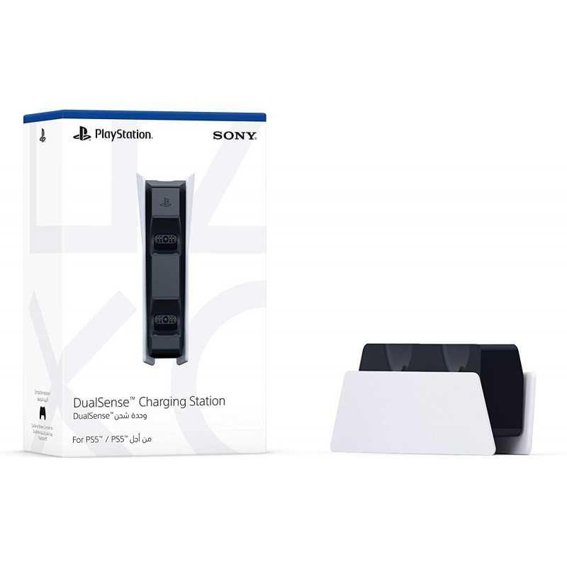 Sony Station de chargement DualSense PS5, Chargeur de Manette PlayStation 5 Officielle - Accessoires - gamezone