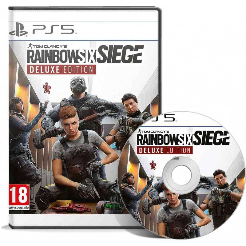 Tom Clancy's Rainbow Six Siege Deluxe Edition PS5 - JEUX PS5 - gamezone
