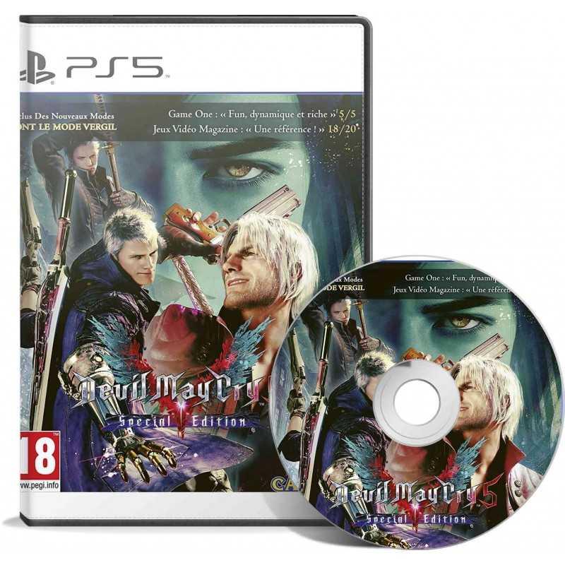 Devil May Cry 5 Edition Spéciale PS5 - JEUX PS5 - gamezone