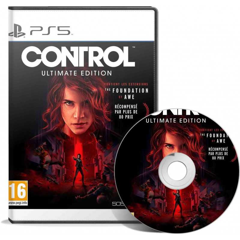 Control Ultimate Edition PS5 - JEUX PS5 - gamezone