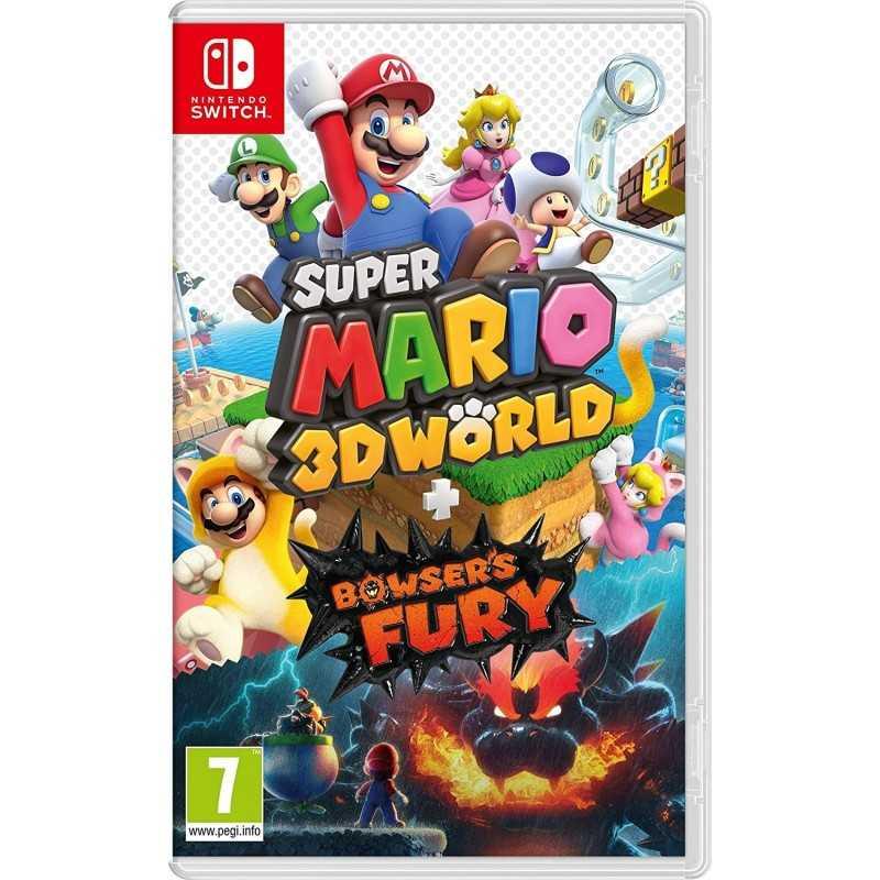 Super Mario 3D World + Bowser's Fury Nintendo Switch - Jeux Switch - gamezone