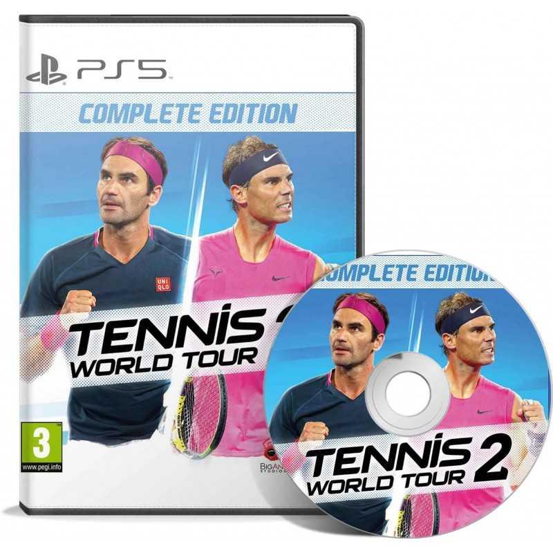 TENNIS WORLD TOUR 2 PS5 - JEUX PS5 - gamezone