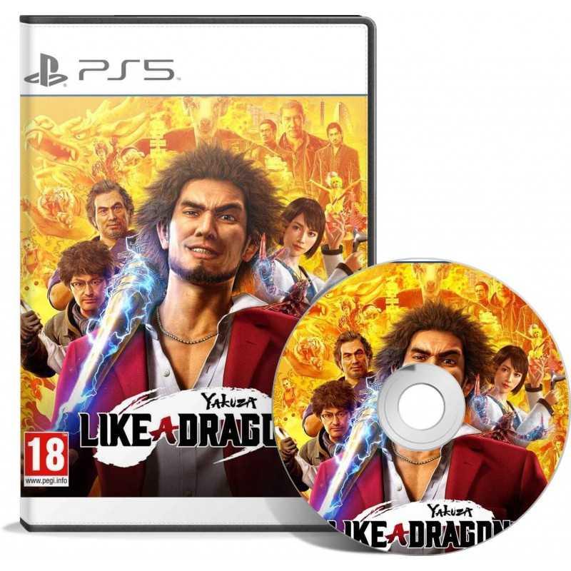 Yakuza Like a Dragon Edition PS5 - JEUX PS5 - gamezone