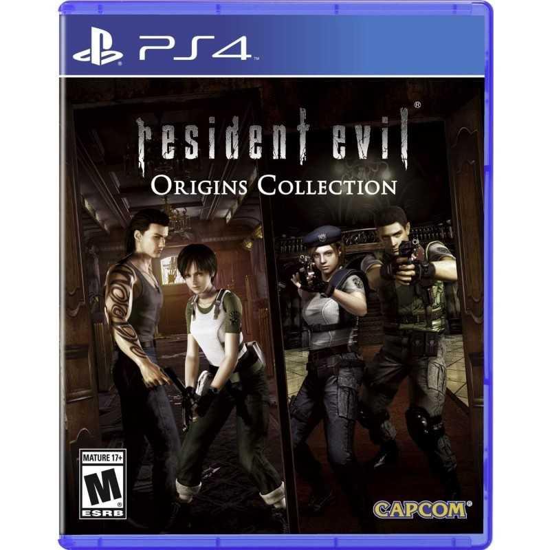 Resident Evil Origins Collection - JEUX PS4 - gamezone